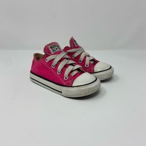 Converse CTAS Hot Pink Infant Sneakers Size 7C